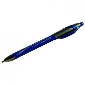 PaperMate Flexgrip Elite Retractable Ballpoint Pen Medium Blue (Pack of 12) S0750530