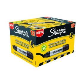 Sharpie Permanent Marker XL Chisel Tip Black (Pack of 12) S0949850