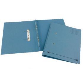 Elba Spirosort Spring Files Foolscap Blue (Pack of 25) 100090159