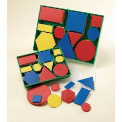Cheap Stationery Supply of Geometric Plastic Shapes Large Set 60 Office Statationery