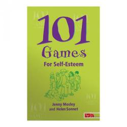 Cheap Stationery Supply of 101 Games for Self-Esteem Office Statationery