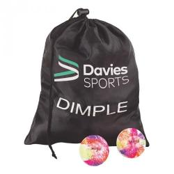 Cheap Stationery Supply of Davies Sports Practice Dimpled Hockey Ball Pack of 12 Office Statationery