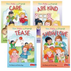 Cheap Stationery Supply of Tom, Katie and Friends Books Pack of 4 Office Statationery