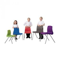 Cheap Stationery Supply of NP Chair Size C 350mm Purple Office Statationery