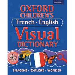 Cheap Stationery Supply of Oxford Children39s Visual Dictionary French-English Office Statationery