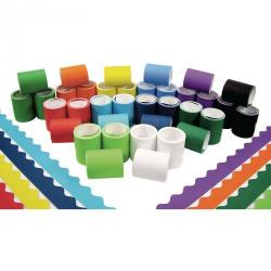 Cheap Stationery Supply of Fadeless Card Border Rolls Bumper Assortment Office Statationery