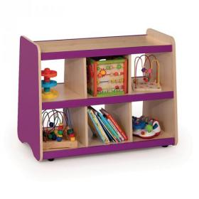 Open Shelving Colour side panels Banana