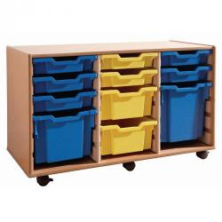 Cheap Stationery Supply of 18 Tray Unit Self assembly Office Statationery