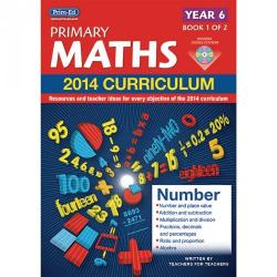 Cheap Stationery Supply of 2014 Primary Maths Curriculum Book Year 6 Book1 Office Statationery