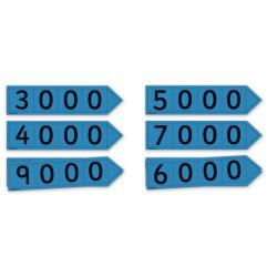 Cheap Stationery Supply of Place Value Arrow Cards Thousands Teacher Office Statationery