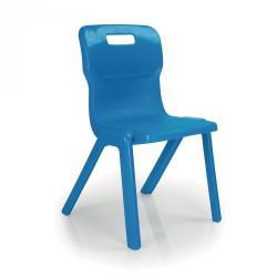 Cheap Stationery Supply of Titan Chairs Classroom Chair Blue 430mm Office Statationery