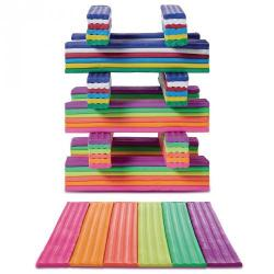 Cheap Stationery Supply of Rainbow Neon Clay Offer Office Statationery