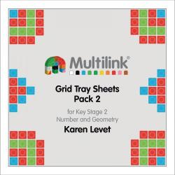 Cheap Stationery Supply of Multilink Grid Tray Sheets Pack 2 for Key Stage 2 Number and Geometry Office Statationery