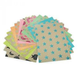 Cheap Stationery Supply of Kraft Neon Papers Office Statationery
