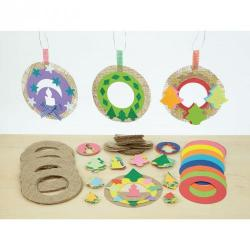 Cheap Stationery Supply of Hessian Wreaths Office Statationery
