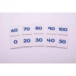 Cheap Stationery Supply of Number Cards 0-100 10 Sets Office Statationery