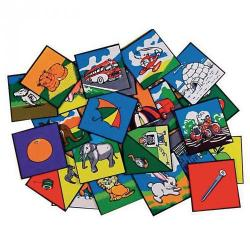 Cheap Stationery Supply of Alphabet Picture Tiles Office Statationery