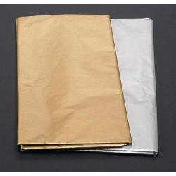 Cheap Stationery Supply of Gold and Silver Tissue Sheets Office Statationery