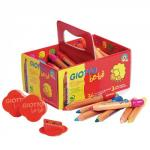 Assorted Giant Colouring Pencils Pack of 36