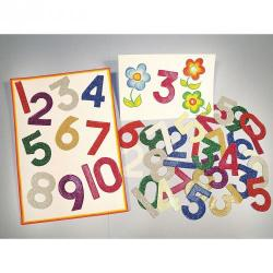 Cheap Stationery Supply of Glitter Numbers Office Statationery