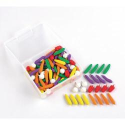 Cheap Stationery Supply of Vegetable Counters Pack 144 Office Statationery