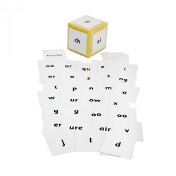 Cheap Stationery Supply of Phonics Pocket Dice Cards and Dice Office Statationery
