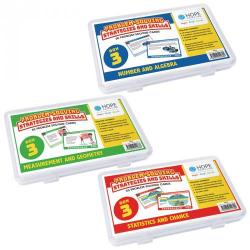 Cheap Stationery Supply of Hope Maths Problem Solving Cards Year 3 Pack 3 Office Statationery