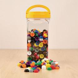 Cheap Stationery Supply of Stacking Counters in Jar Pack 500 Office Statationery