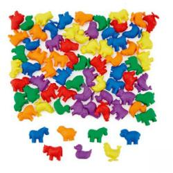 Cheap Stationery Supply of Animal Counters in Jar Pack 192 Office Statationery