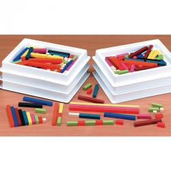 Cheap Stationery Supply of 10mm Cuisenaire Rods Multipack Office Statationery