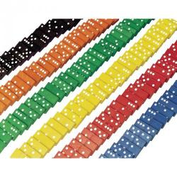 Cheap Stationery Supply of Coloured Dominoes Office Statationery