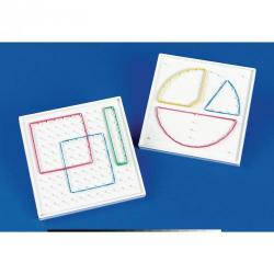 Cheap Stationery Supply of 10 x 10 Double-Sided Geoboard Pack 5 Office Statationery