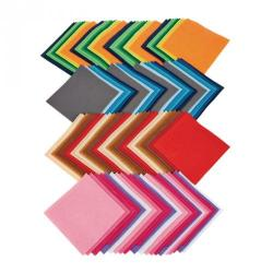 Cheap Stationery Supply of 150mm Squares Assorted Office Statationery