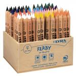 Lyra Assorted Ferby Triangular Colouring Pencils Pack of 96