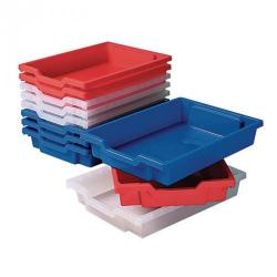 Cheap Stationery Supply of Gratnells Shallow Storage Tray Yellow Office Statationery