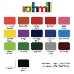 Cheap Stationery Supply of Rothmill 280 Micron Brilliant Colour Card A4 Size Midnight Blue Office Statationery