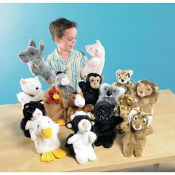 Cheap Stationery Supply of Farm and Wild Animal Puppets Office Statationery