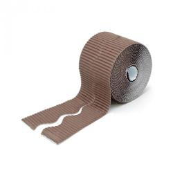 Cheap Stationery Supply of Scalloped Bordette Rolls Brown Office Statationery