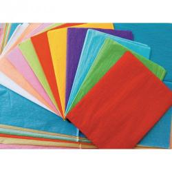 Cheap Stationery Supply of Remnant Tissue Paper Assorted Sizes Pack of 60 Office Statationery