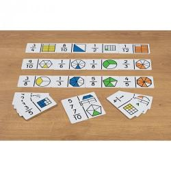Cheap Stationery Supply of First Fraction Dominoes Office Statationery