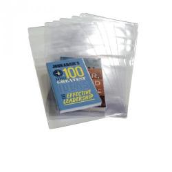 Cheap Stationery Supply of Clear 198mm Spine Book Covering Pack of 100 Office Statationery