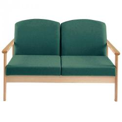 Cheap Stationery Supply of Thatcher 2 Seater Teal Office Statationery