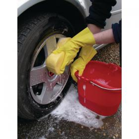 Shield Household Rubber Medium Gloves Yellow GR03