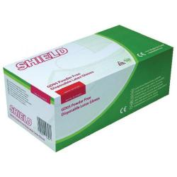 Cheap Stationery Supply of Shield P/F Latex Gloves Medium (Pack of 1000) HEA00399 Office Statationery