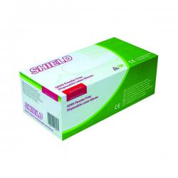 Cheap Stationery Supply of Shield P/F Latex Gloves Large (Pack of 1000) HEA00401 Office Statationery