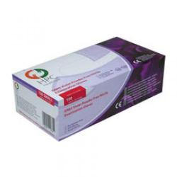 Cheap Stationery Supply of hpc p/f nitrile exam glvs large pack of 100 purp Office Statationery