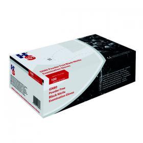 Handsafe Speciality Nitrile Gloves Medium Black (Pack of 100) GL897