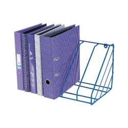 Cheap Stationery Supply of Blue Plastic Coated Wire Universal Storage Rack WR222BL Office Statationery