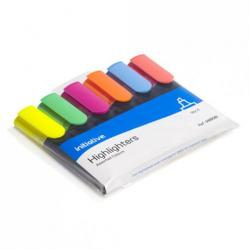 Cheap Stationery Supply of Initiative Water Based Highlighters Wedge Shaped Tip Assorted Wallet 6 Office Statationery