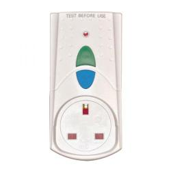 Cheap Stationery Supply of RCD Safety Plug White (Takes 3000 upto Watts and 13 Amps) PB5000 Office Statationery